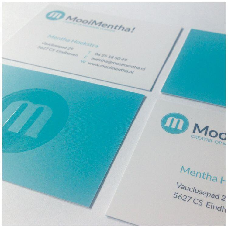 Visitekaartjes MooiMentha!